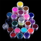 2017A# 45 Colors Nail Art Make Up Body Glitter Shimmer Dust Powder Decoration glitter