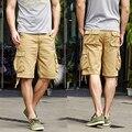 OONU 2016 Caliente Verano de Los Hombres de camuflaje Del Ejército Trabajo Ocasional bermudas Pantalones Cortos Hombres Moda Joggers Pantalones Generales mma Corto 261