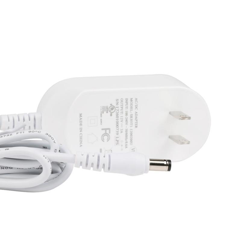 High-quality Power Adapter AC 100V~240V Input DC 12V 2A Output Power Supply Adapter Smart WiFi  Wireless LED Light Strip US Plug zosi ac au eu uk optional plug ac 100 240v to dc 12v 2a power adapter supply charger for led strips light free shipping