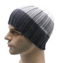 Invierno Unisex los hombres de las mujeres de punto de ganchillo sombrero  Cap Beanie sombrero hip-hop sólido envío gratis   Y502 9bebb13028e