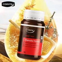 Оригинал, Новая Зеландия, Comvita Manuka Honey UMF15 +, для пищеварения, иммунитета, дыхательная система, против кашля, болезненное горло