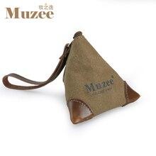 Muzee leinwand münztüte anzug für schlüssel und münze niedliche tasche für jugendliche männlichen und weiblichen geschenk tasche
