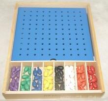 Новый деревянный ящик froebel jun gabe 2 детские развивающие
