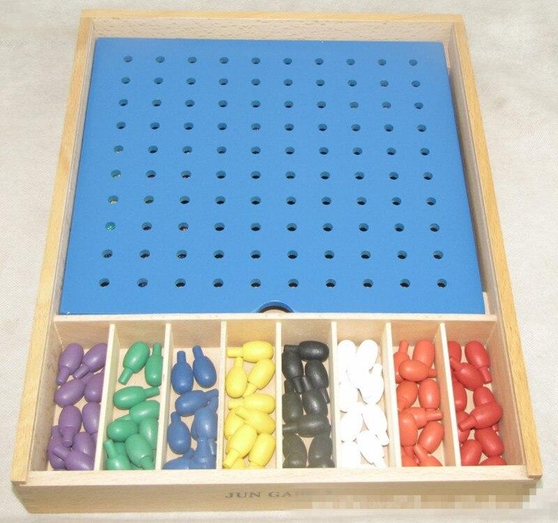 Noua cutie din lemn Froebel Utilizarea integrată a obiectelor pentru - Învățare și educație