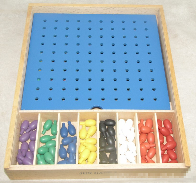 New Wooden Box Froebel JUN  GABE 2 Baby Educational Toys