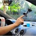 Universal 360 Degree giratoria doble Side Car Dashboard del parabrisas del soporte de la succión del montaje del soporte para el teléfono móvil MP4 GPS