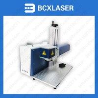 Factory free shipping Semiconductor 30w fiber laser marking machine cheap shipping
