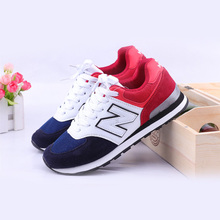 New 574 Original Running Shoes for Men Women Summer Breathable Lightweight Sports Shoes Black Red Male Gym Outdoor