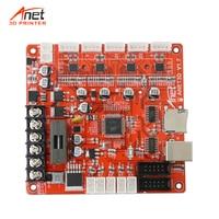 Updated V1.7 Motherboard Main Board Logic Board For Anet 3D Printer Control Reprap i3 Mendel for A8 A6 E10 E12 E16 3D printer
