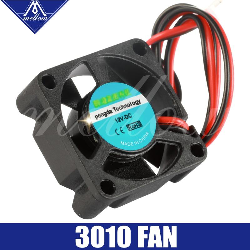 Livraison gratuite 12 V/24 V V6/V5 radiateur 3010 ventilateur 30*30*10mm 3010 s DC petit ventilateur refroidissement extrudeuse 2 fils 3d imprimante accessoires partieLivraison gratuite 12 V/24 V V6/V5 radiateur 3010 ventilateur 30*30*10mm 3010 s DC petit ventilateur refroidissement extrudeuse 2 fils 3d imprimante accessoires partie
