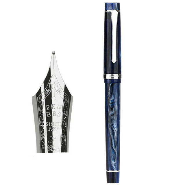 Purple Cloud EF Nib \ Penbbs 352 Fountain Pen