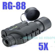 Free Shipping!!Brand Infrared Dark Night Vision IR Monocular Binoculars Telescopes 200 Yards 5X
