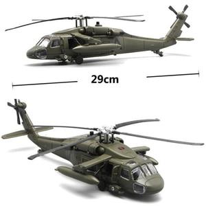 Image 2 - 29CM 1/72 Skala Schwarz Hawk Hubschrauber Militärischen Modell Armee Kämpfer Flugzeug Flugzeug Modelle Erwachsene Kinder Spielzeug Sammlungen Geschenke