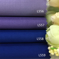 Autumn purple blue worsted fabric and wool suit fabric coat dress manual DIY