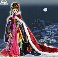 High Quality Fox Spirit Beauty Doll Hand Made Chinese Costume 12 Jointed Bjd 1 6 Dolls