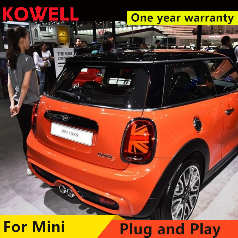 KOWELL Car Styling For BMW MINI F55 F56 F57 2014 2016 Led Tail Lights Fog lamp Rear Lamp DRL+Brake+Park+Signal lights-in Car Light Assembly from Automobiles & Motorcycles    1