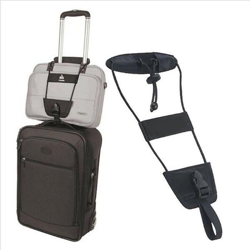 Travel Accessories Elastic Luggage Strap Trolley Belt  Suitcase Travel Bag Fixed Belt Adjustable Security Packing