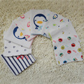 5 unids 100% Gasa de Algodón Recién Nacido Bebé Infantil de Dibujos Animados Cara Mano Alimentación Baberos de Toalla de Baño 31*31 cm Cuadrados toallas Pañuelo