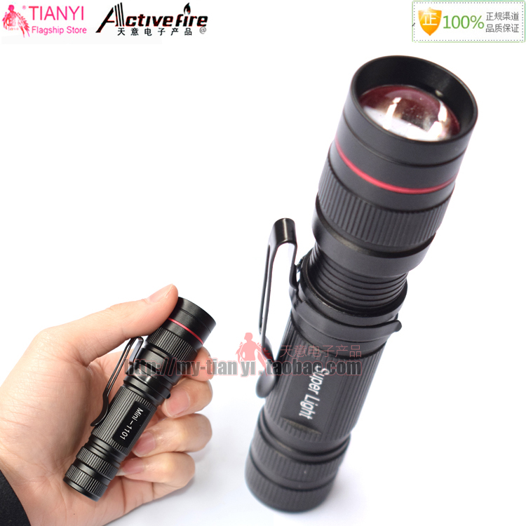 LED Flashlight Q5 Zoomable Waterproof Flashlights Linternas LED Lampe Torche AA / 14500 Mini LED Flashlight for Self Defense meco q5 500lm multicolor zoomable mini led flashlight 14500 aa