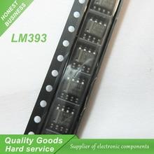50pcs LM393 LM393DR LM393D SOP-8 Comparators Dual Differenti