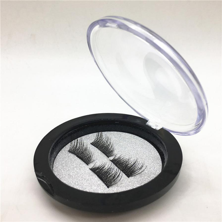 magnetic eyelashes 0.2mm thin 3D Reusable False Eyelashes Synthetic Hair magnetic eyelash extension lashes New 18.15