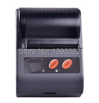 LS2 Bluetooth Принтер, Мобильный Принтер, Термальный Принтер, Портативный Принтер с Блоком Питания 12 В Скорость Печати 80 мм/сек.