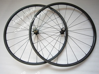 700C 20mm deep clincher carbon road wheelset light weight carbon wheels bike parts Novatec A271SB F372SB Hub