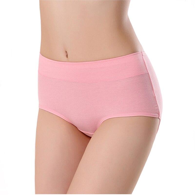 Nauji moteriški medvilniniai apatiniai kelnaitės kelnaitės trumpikės Seksualūs apatiniai kelnės Moteriškos vidutinio ilgio juosmens kelnaitės moterims