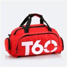 T60 Водонепроницаемый тренажерный зал, спортивные сумки Для мужчин Для женщин Молл Фитнес спортивный рюкзак Многофункциональный Путешествия/Чемодан bolsa плеча Сумки