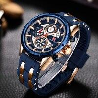2019 nowy MINI ostrości mody sportów mężczyzna kwarcowy zegarek Top marka luksusowe wojskowe zegarki na rękę wielofunkcyjny wodoodporny zegar w Zegarki kwarcowe od Zegarki na