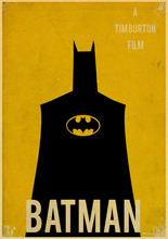 Vintage Poster DC Movie Batman Art Printed Retro Poster Home Decor Room Decorative Painting Vintage Wall Picture