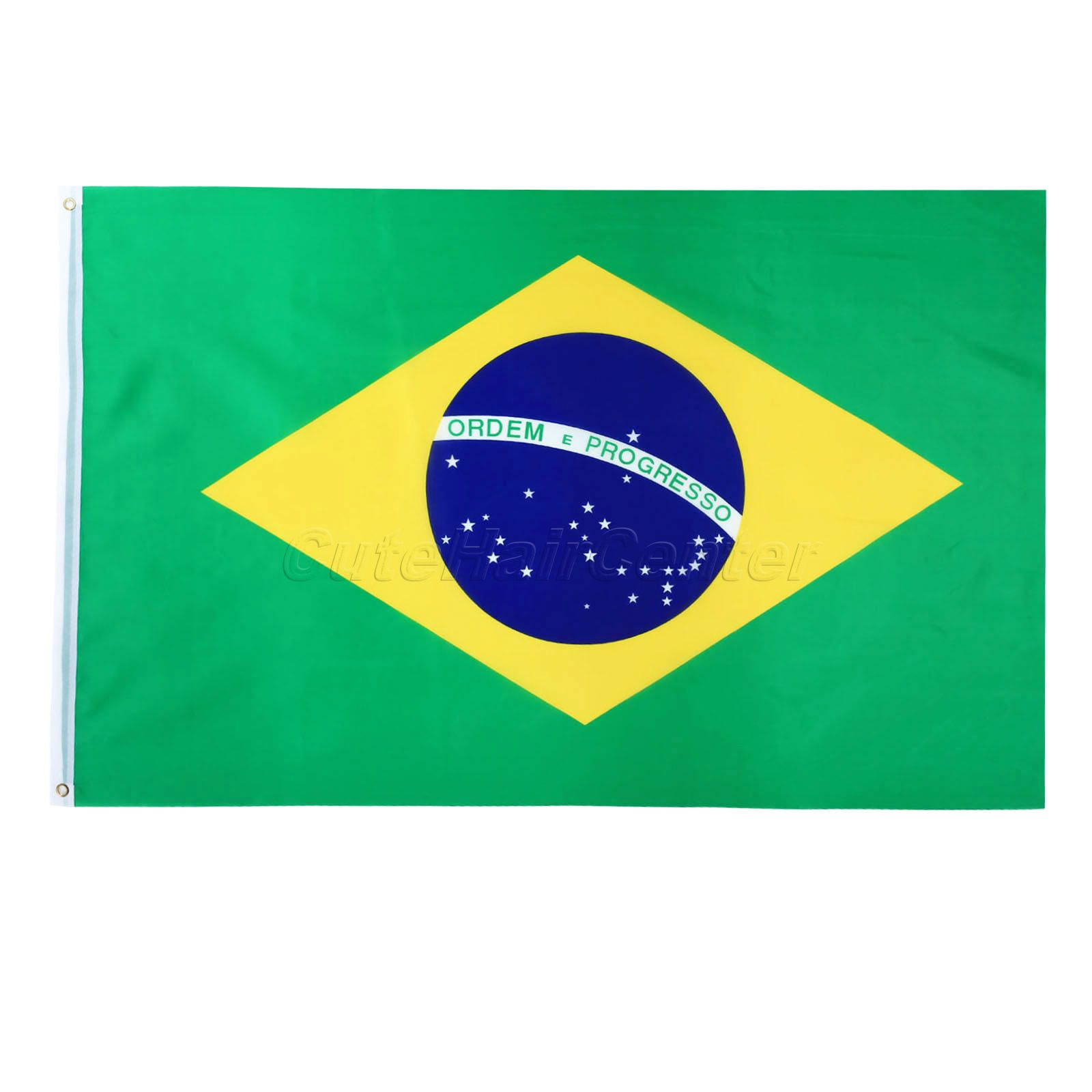 10pcs lot national flag country flag stick flags flag of the united - Large 3x5ft Brazilian Flag The Brazil National Flag Bra Polyester For Schools Rallies Community Party Sporting