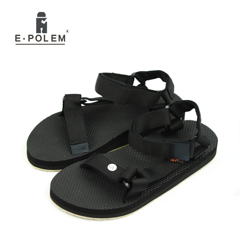 2017 Summer New Style Men Candy Color Tide Fashion Casual Breathable Beach Sandals Men Casual 4 Color Hollow Out Flats Sandals