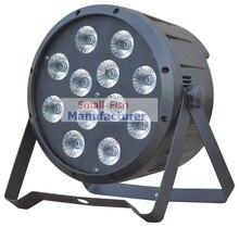 4XLot 12x10W 4in1 RGBW Led Par Light Professional Stage Lighting High Power LED Par Can With DMX512 DJ Disco Sound Equipments