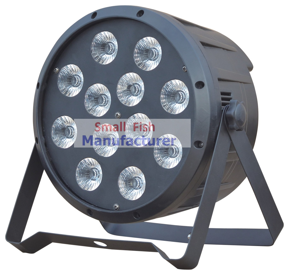4XLot 12x10W 4in1 RGBW Led Par Light Professional Stage Lighting High Power LED Par Can With DMX512 DJ Disco Sound Equipments 4x led par light 7x10w 4in1 rgbw led slim par can strobe laser dmx dj disco professional stage lighting sound party equipment