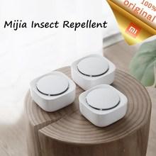 オリジナルxiaomi mijia蚊よけキラー昆虫消毒タイミング機能揮発ledライトを使用する90日