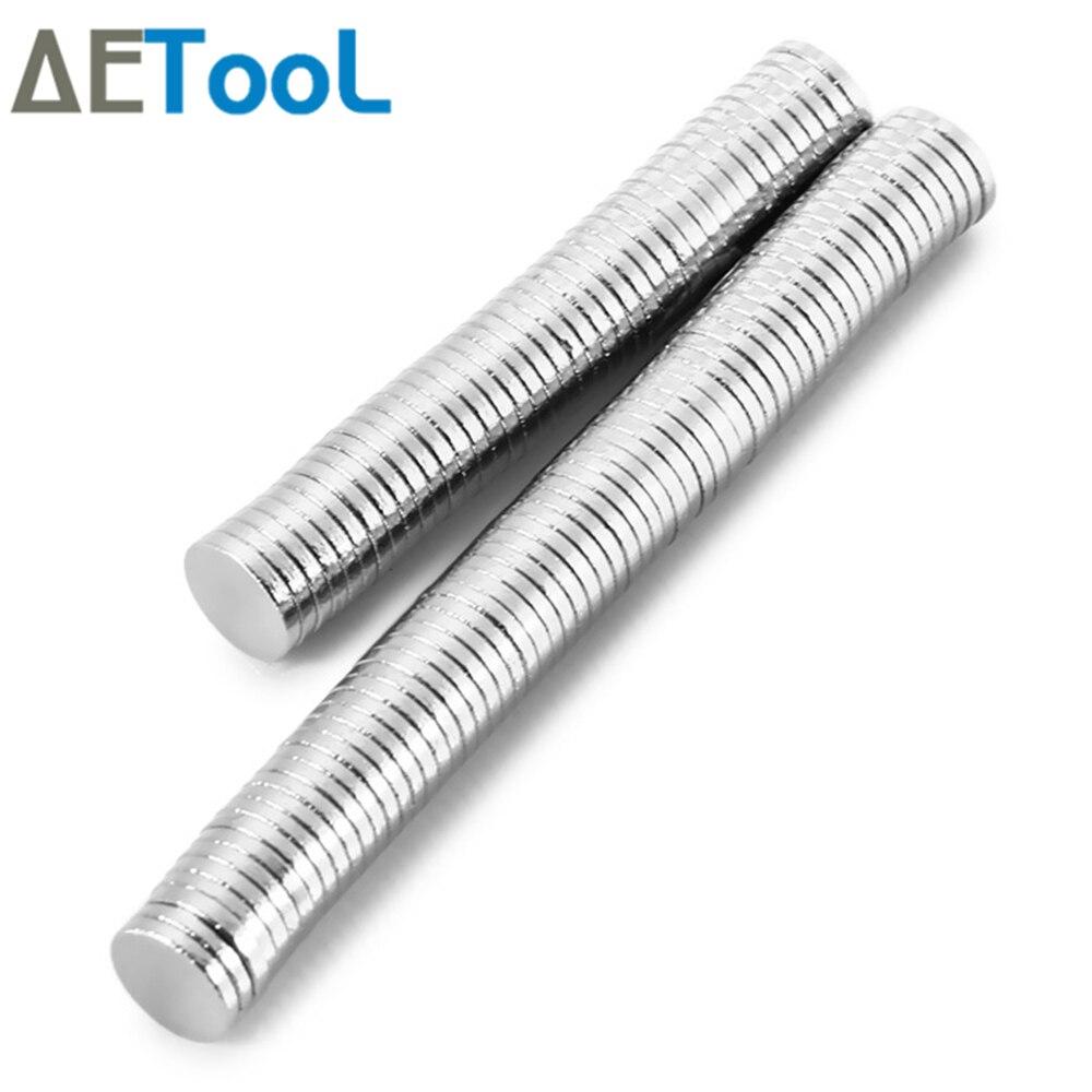 AETool 30 шт. мини небольшой магнит 10×1 10×1,5 12×1 12×2 15×1 мм неодимовый магнит постоянный N35 NdFeB супер сильный мощные магниты