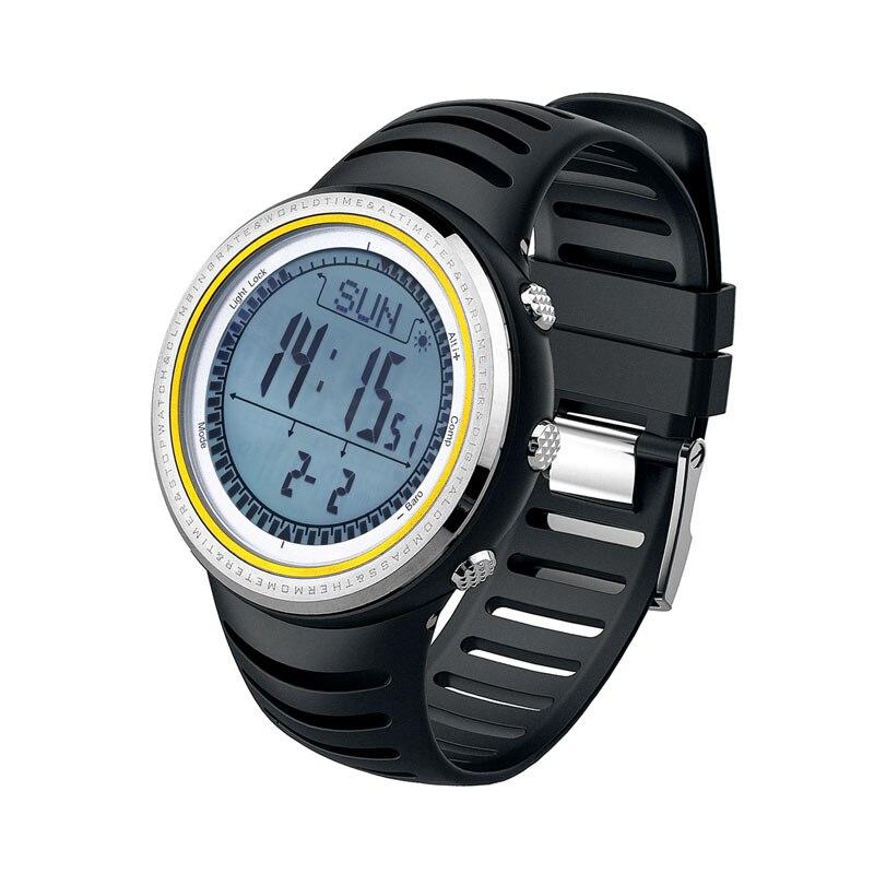SUNROAD Sport degli uomini Watch 5TM Digitale Impermeabile Altimetro Barometro Escursioni Corsa e Jogging Nuoto Orologi Orologio Bussola Contapassi-in Orologi digitali da Orologi da polso su  Gruppo 1