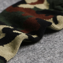 1 Pair Men Breathable Winter Soft Cotton Camouflage Thicken Warm Elasticity Socks Great Gift Sports Socks Wholesale