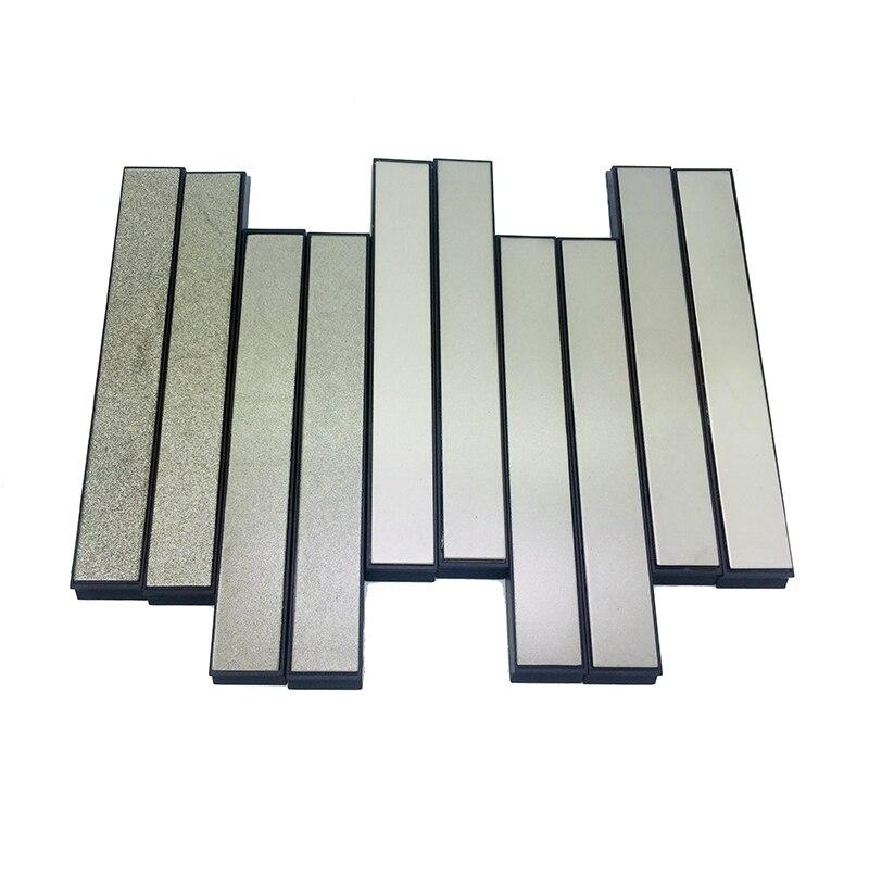 Ruixin Pro 80 afiador de facas de Cozinha pedra de amolar de diamante 120 200 400 500 600 800 1000 1500 2000 3000Grit pedra lisa 5.9