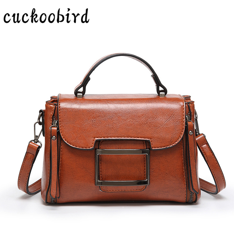 Brand Fashion Women Bag PU Leather Flap Pocket 2018 New Female Tote Ladies Bag Simple Shoulder Solid Hasp Ladies HandBag tassels pu leather pocket tote bag page 3