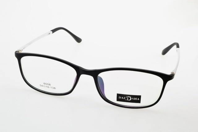 Ultra light toughness Eye Frame black And white Custom Made Optical ...