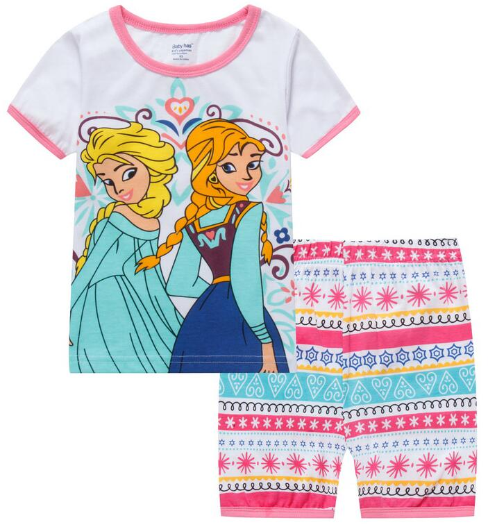 82a57d99bb 2018 Hot Sale Sleepwear Kids Sets Short Sleeve Cartoon Boy Pajamas Set For  Baby Sleep Wear Clothing 2-7 Year nightgown Sleepwear