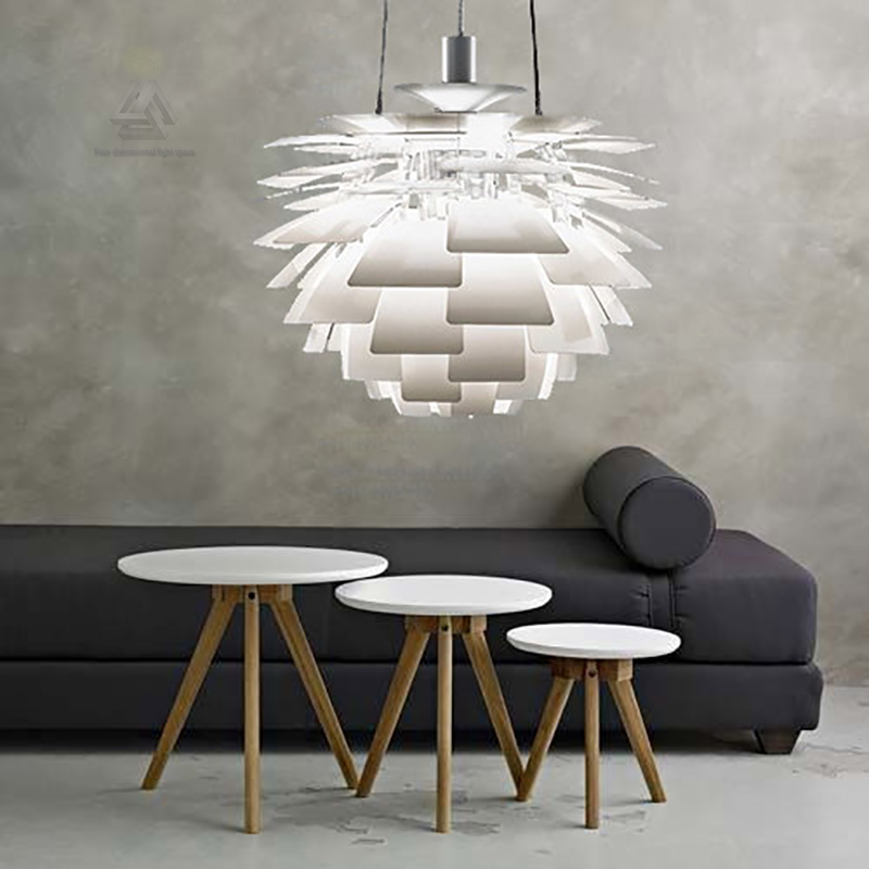 ph artischocke durch poul henningsen von louis poulsen pendelleuchte suspension moderne lampe. Black Bedroom Furniture Sets. Home Design Ideas