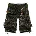 2017 New Fashion Summer  Men's Shorts Men Casual  Shorts Cotton Men Camouflage Color Short Pants size 29-40 47CQ
