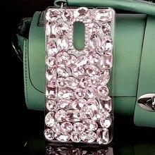 Роскошный дизайн дамы кристалл стиль мультфильм шаблон сотовый телефон чехол для Xiaomi Redmi Note 4X