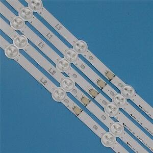 Image 4 - 10 ламп 820 мм, светодиодная лента для задсветильник освещения LG 42LN6138 42LN613 42LN6108 42 дюйма, светодиодные ленты для телевизора, задсветильник вые полосы светильник вые полосы