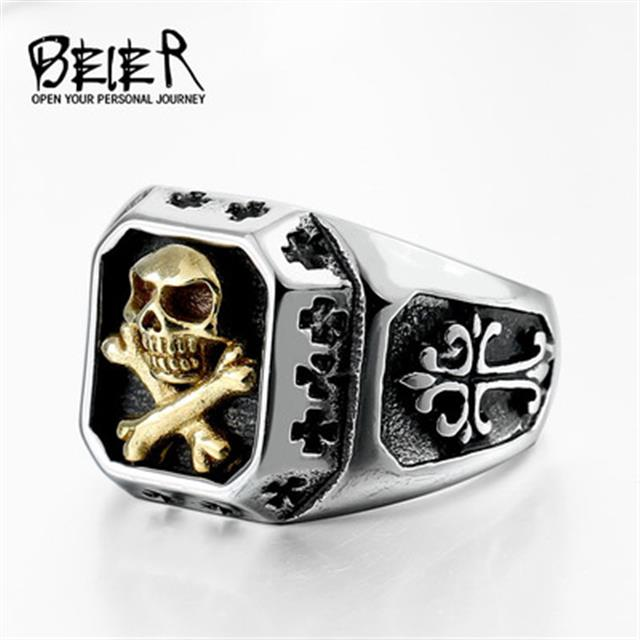 american flag stainless steel skull ring brand jewelry head skull