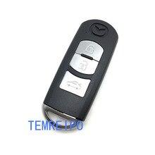 3 Button Remote Car Key Shell FOB For Mazda 2 3 5 6 M2 M3 M5 M6 Demio Axela Premacy Atenza Replacement Cover Case