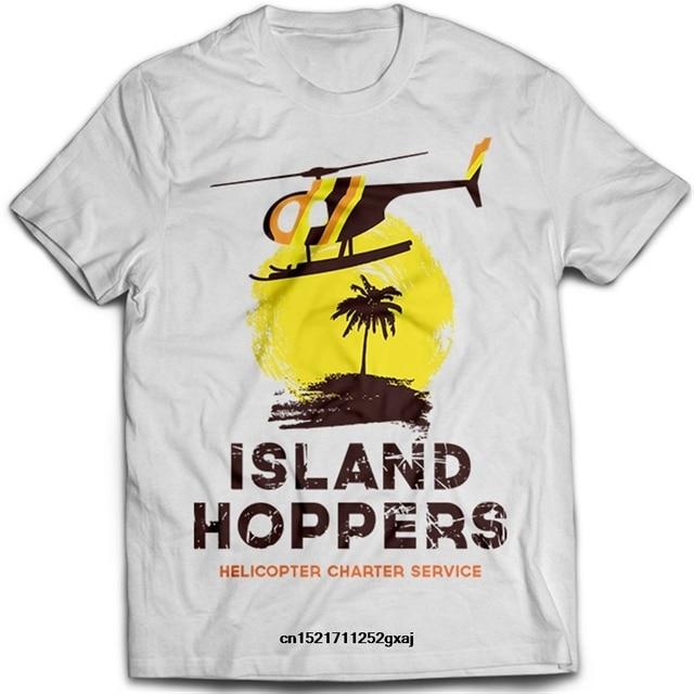 c9f551195 Gildan Men t shirt Island Hoppers Magnum PI Helicopter Thomas Hawaii
